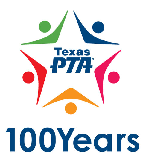 Texas PTA 100 Years Logo